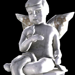3D Gnome and Angle Statue