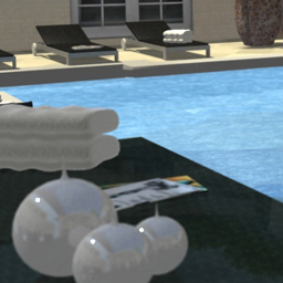 Backyard Pool Render