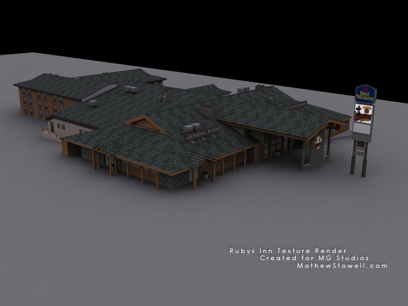 Rubys Inn texture render 2