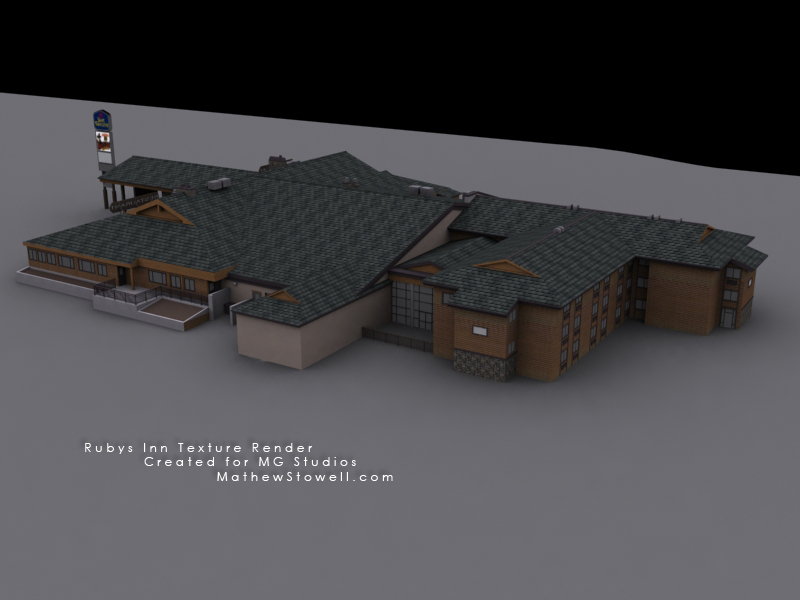 Rubys Inn texture render