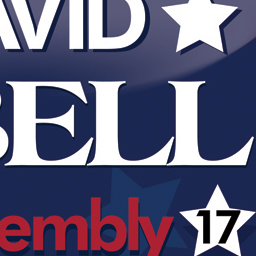 Campaign Sign for David Isbell