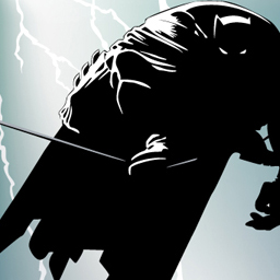 The Dark Knight Returns Vector Tracing