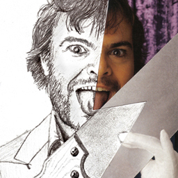 Jack Black – Cut Drawing