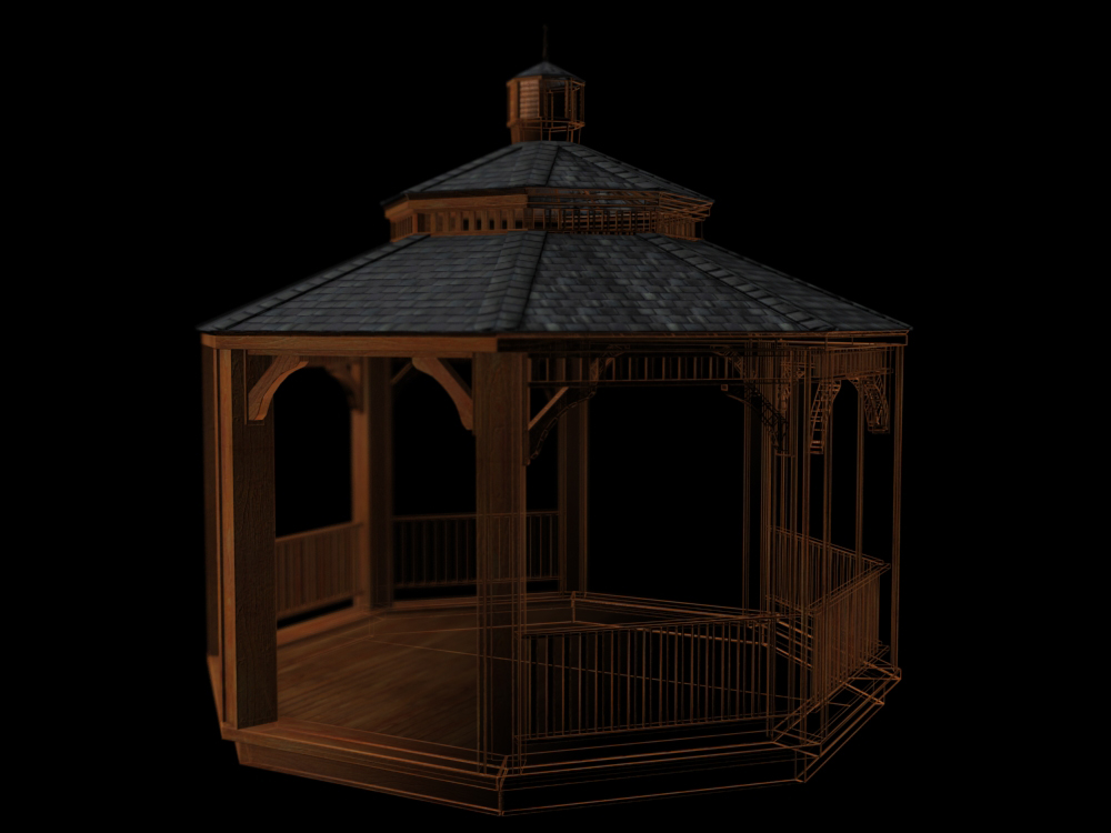 wireframe w gazebo