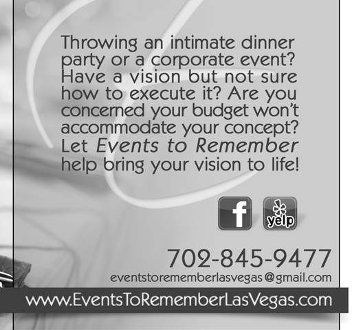 Events to Remember Magazine Ad