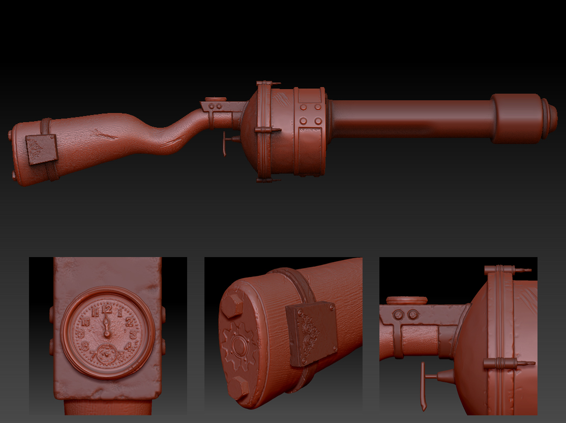 zbrush-steampunk-gun