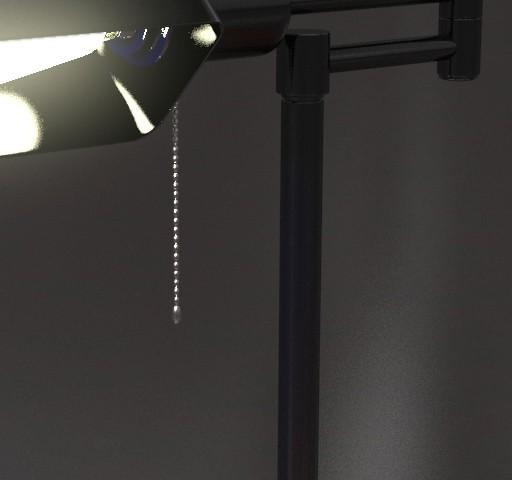 3D Noire Style Desk Lamp