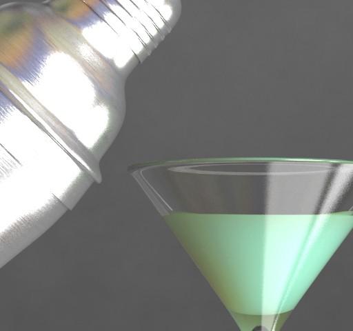 3D V-Ray Martini & Shaker