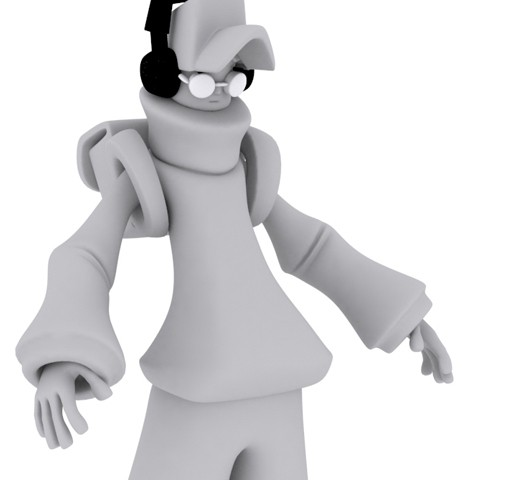 Graffiti Mike – 3D Character